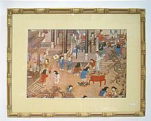 Framed Asian Print