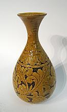 Chinese Sgraffito Ceramic Vase