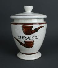ITALIAN TOBACCO JAR
