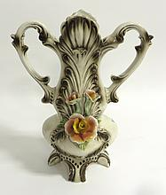 Ceramic Vase With Flower