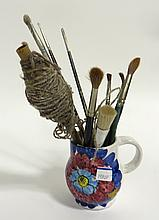 Collection Of Artists Brushes
