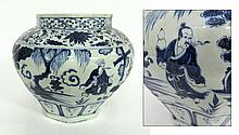 Chinese Yuan Style Blue & White Vessel