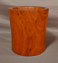 Huangyang Wood Brush Pot