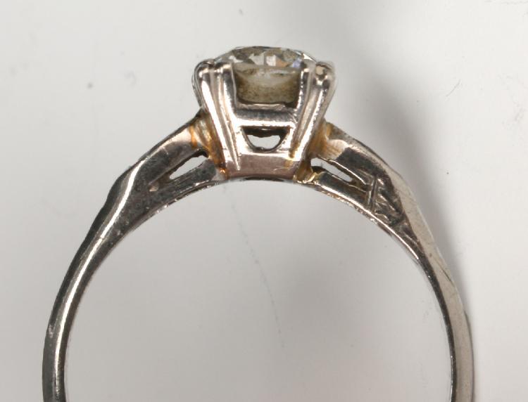 PLATINUM DIAMOND ENGAGEMENT RING FROM ZALES