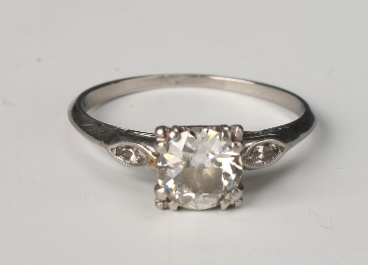 PLATINUM DIAMOND ENGAGEMENT RING FROM ZALES