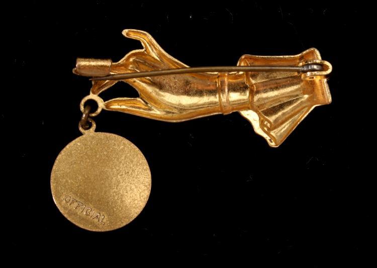 1939 Ny World S Fair Official Souvenir Pin