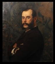 PORTRAIT ATTR. JEAN PAUL LAURENS (1838 - 1921)