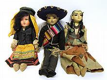 Three Latin Dolls