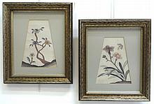 Antique Framed Kesi Embroidery Textiles