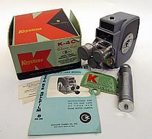 Keystone 8mm Movie Camera