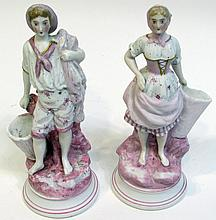 Figurines In Bisque