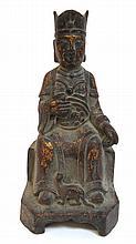 Chinese Cast Bronze Figure