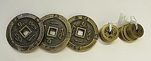 Twenty Chinese Coins