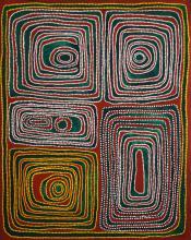 Jimmy Mawukura (Mulgra) Nerrimah (1924-2013) Jilji (sandhill) country the Great Sandy Desert. 2006