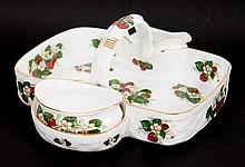 Hammersley china strawberry basket