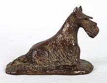 Scottish Terrier bronze