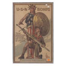 Poster, World War 1, 3rd Liberty loan
