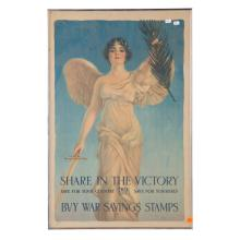 Poster World War 1. Share in the Victory