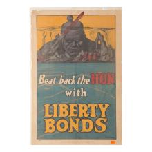 Poster, World War 1, Beat Back the Huns
