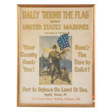 Poster, World War 1. U.S. Marines