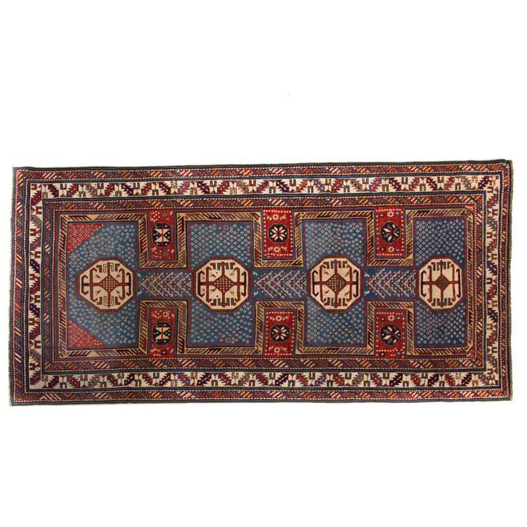 Antique shirvan rug approx 4 3 x 8 6 for Alex cooper real estate auctions