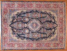 Persian Meshed carpet, approx. 9.9 x 13