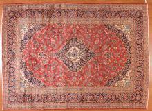 Persian Keshan carpet, approx. 9.10 x 13.6