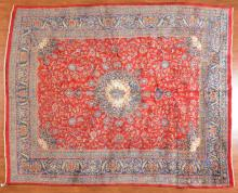 Persian Meshed carpet, approx. 10 x 12.4