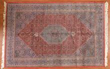 Indo Bijar rug, approx. 6.5 x 9.9