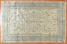 Persian Keshan rug, approx. 8.1 x 12.2