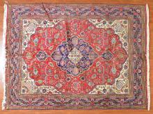 Persian Tabriz rug, approx. 8 x 10.5