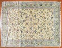 Persian Keshan carpet, approx. 10 x 13.1