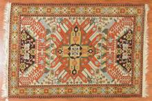 Turkish Kazak rug, approx. 5.8 x 8
