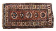 Antique Kazak rug, approx. 3.4 x 6.3