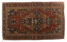 Antique Feraghan Sarouk rug, approx. 3.9 x 6.4