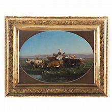 Manner of John G. Chapman. La Campagna, oil