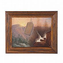 Gayle Tate. Trompe l'oeil: Metropolitan Museum