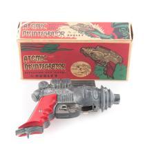 Hubley Atomic Disintegrator Repeating Cap Pistol