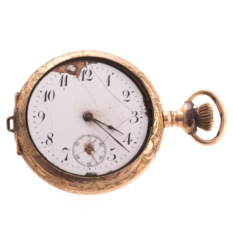 a trio of early pocket watches