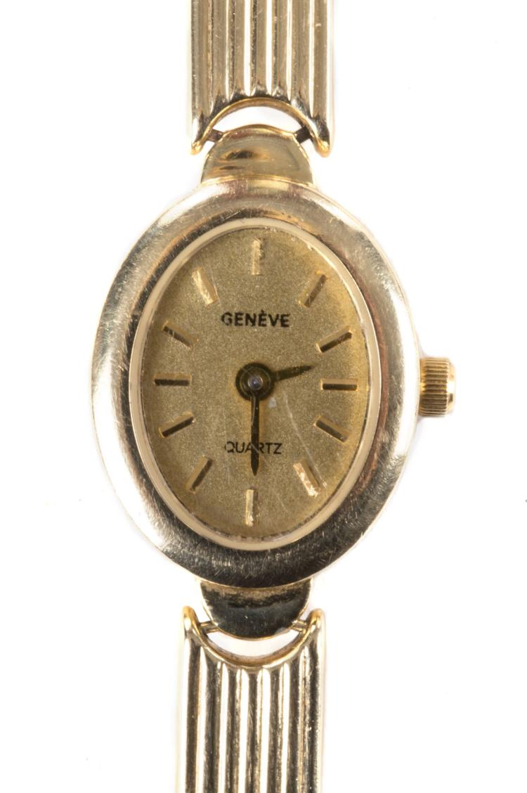 s geneve 14k gold wrist