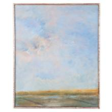 "Robert Knipschild. ""Summer Field,"" oil on canvas"