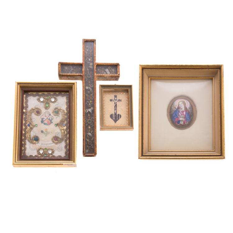 Four assorted religious articles for Home articles furniture