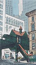 "Woldemar Neufeld. ""El Station at Hanover Square"""
