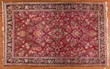 Semi-antique Sarouk rug, approx. 4.1 x 6.4