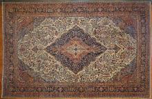 Unusual Sarouk carpet, approx. 11.8 x 17.10