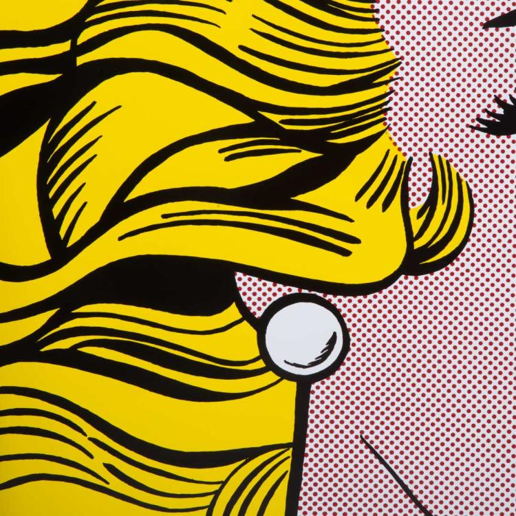 After roy lichtenstein crying girl poster for Poster roy lichtenstein