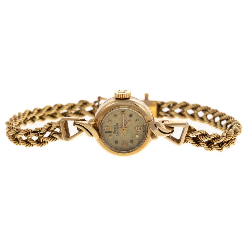 A 14K Vintage Girard Perregaux Wrist Watch