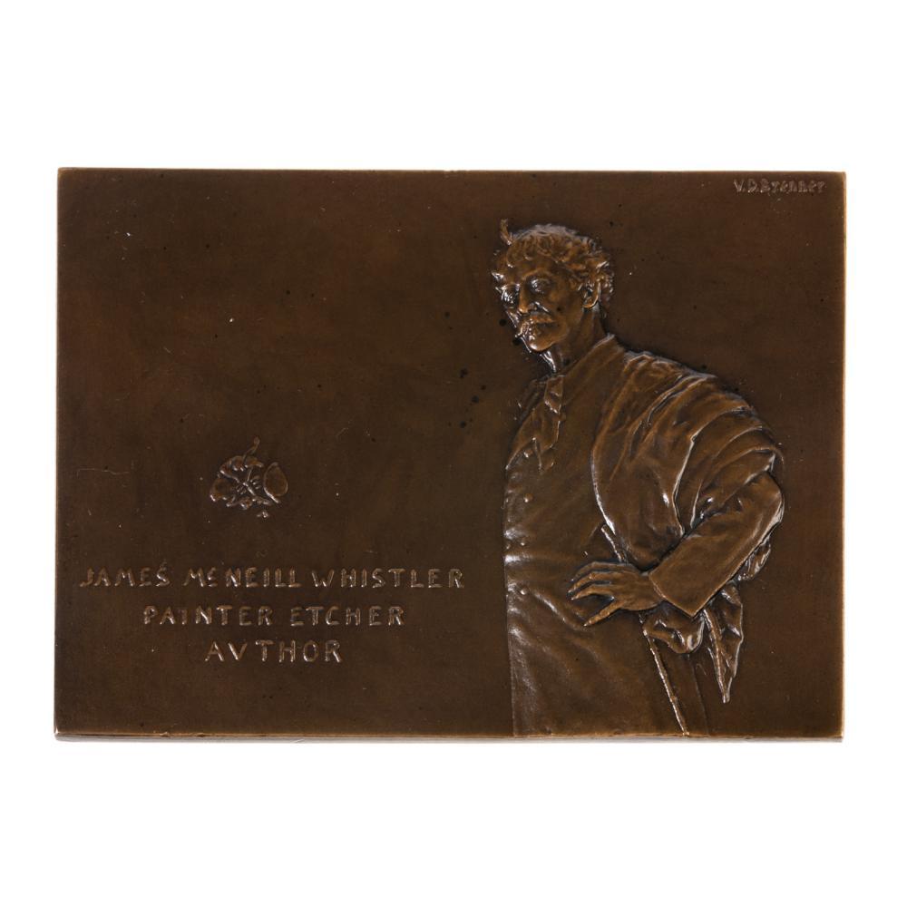 James McNeil Whistler Plaque, 1905