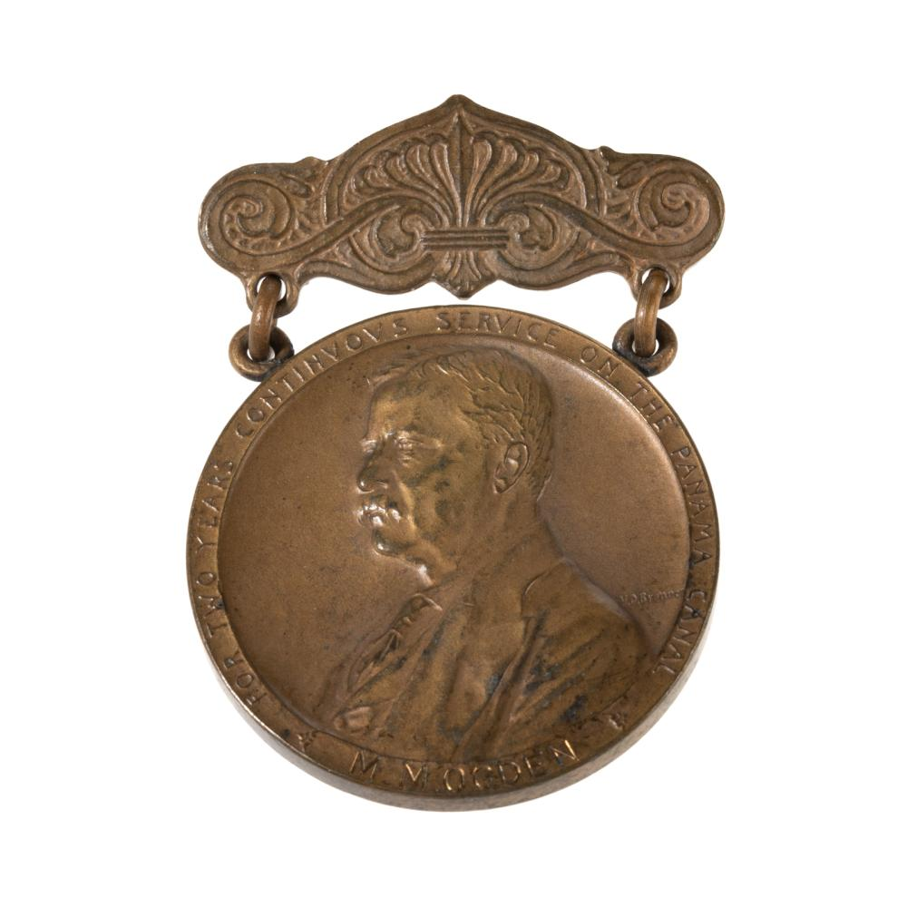Panama Canal Service Medal 1912-1914