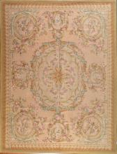 Savonnerie carpet, approx. 12 x 15.4